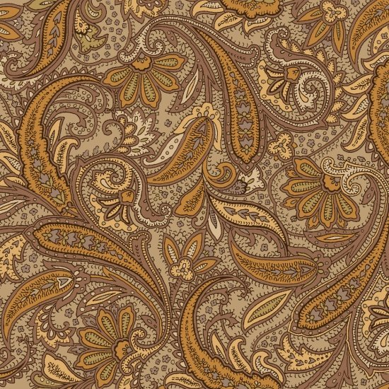 Hold Your Horses 4387-33 - Paisley Tan