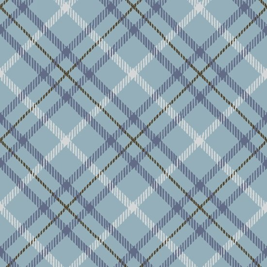 Hold Your Horses 4389-11 - Plaid Blue