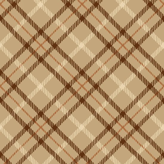 Hold Your Horses 4389-33 - Plaid Tan