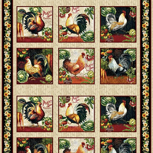 Farmer's Market<br>4451-44 - Rooster Blocks