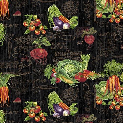 Farmer's Market<br>4452-99 - Veggie Toss Black