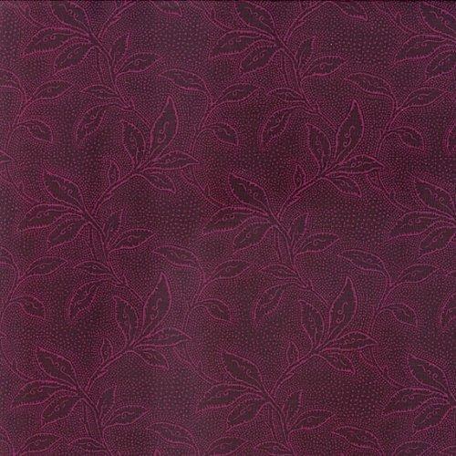 Jinny Beyer Palette 4732-001 Leaf - Deep Wine