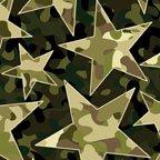 Camo Mix Stars - green 04820