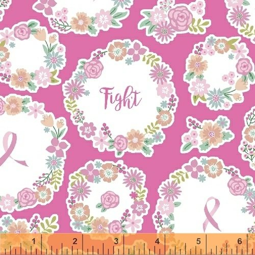 I Believe in Pink 50250-1 - Faith Hope Love Dk. Pink