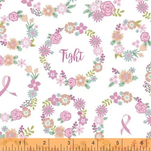 I Believe in Pink 50250-2 - Faith Hope Love White