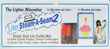 Lite Steam-A-Seam 2 -12 inches
