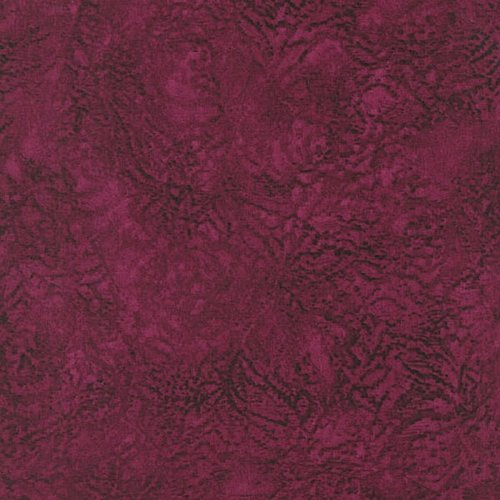 Jinny Beyer Palette 5866-072 Ripple - Burgandy