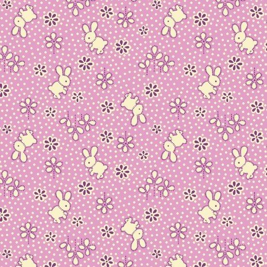 Nana Mae II - 6917-55 Purple Bunny Toss
