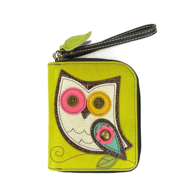 Chala Zip-Around Wallet 839OL0 Owl II - Mustard