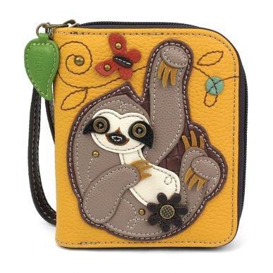 Chala Zip-Around Wallet 839SL5 Sloth - Yellow