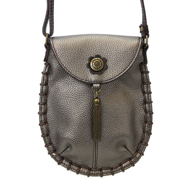 Charming Cell Phone Cross Body - Pewter