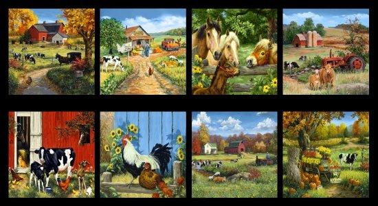 Old Farmstead - Farm Blocks Black - 8694-099