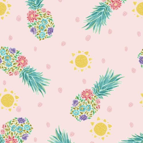 Sun 'N Soil 9446-22<br> Pink Tossed Pineapples