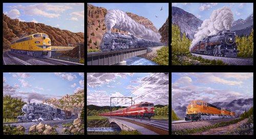 Locomotion<br>23 Panel Train Blocks 9469-99