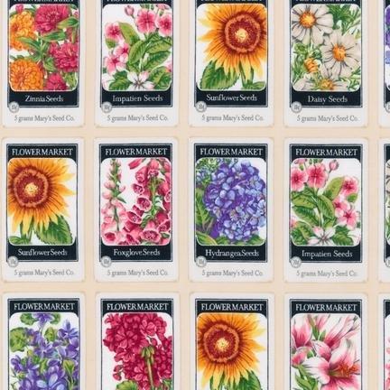Everyday Favorites Flower Seeds AMK-14468-15 Ivory