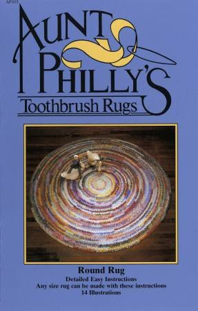 Aunt Philly's Toothbursh Rugs - Round