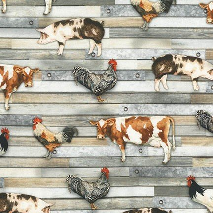 Farmhouse - AWHD-18230-276<br>Barn Animals