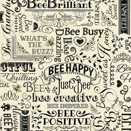 Hive Rules - Bee Words<br>BEE-C7172 Natural
