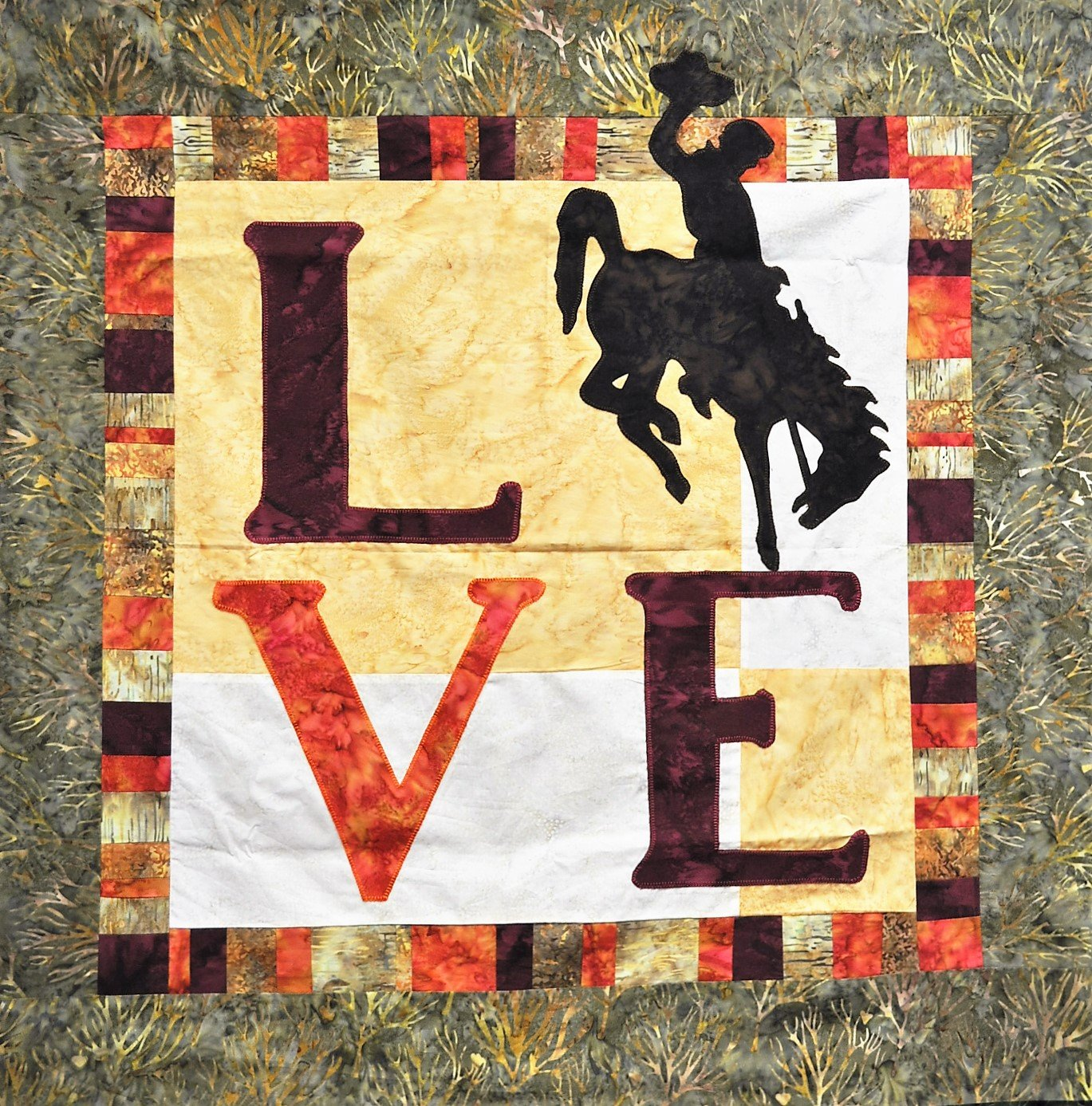 Big Love Wyoming Wall Quilt Kit
