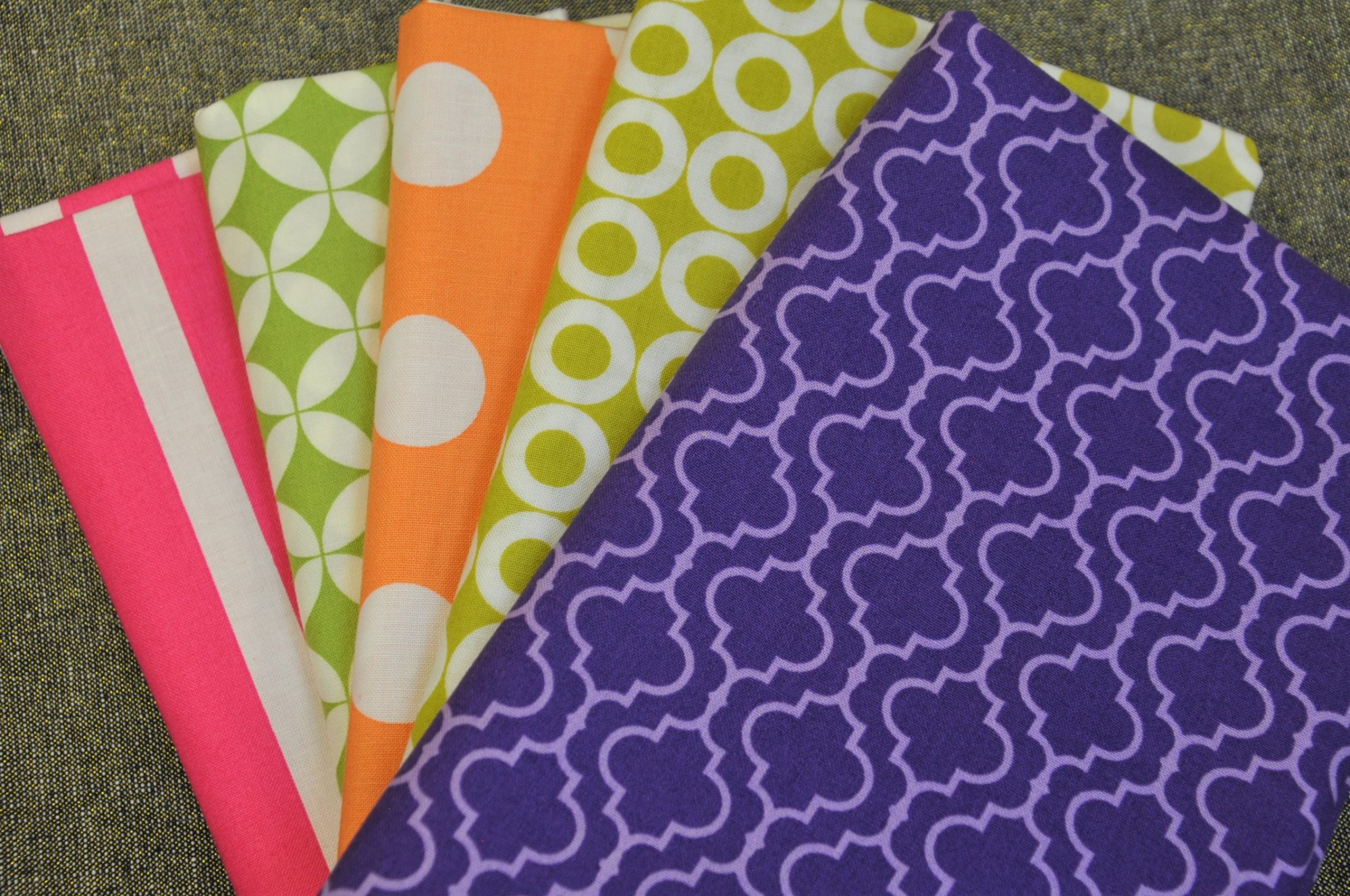 Bright Geometrics - 5-yd Bundle
