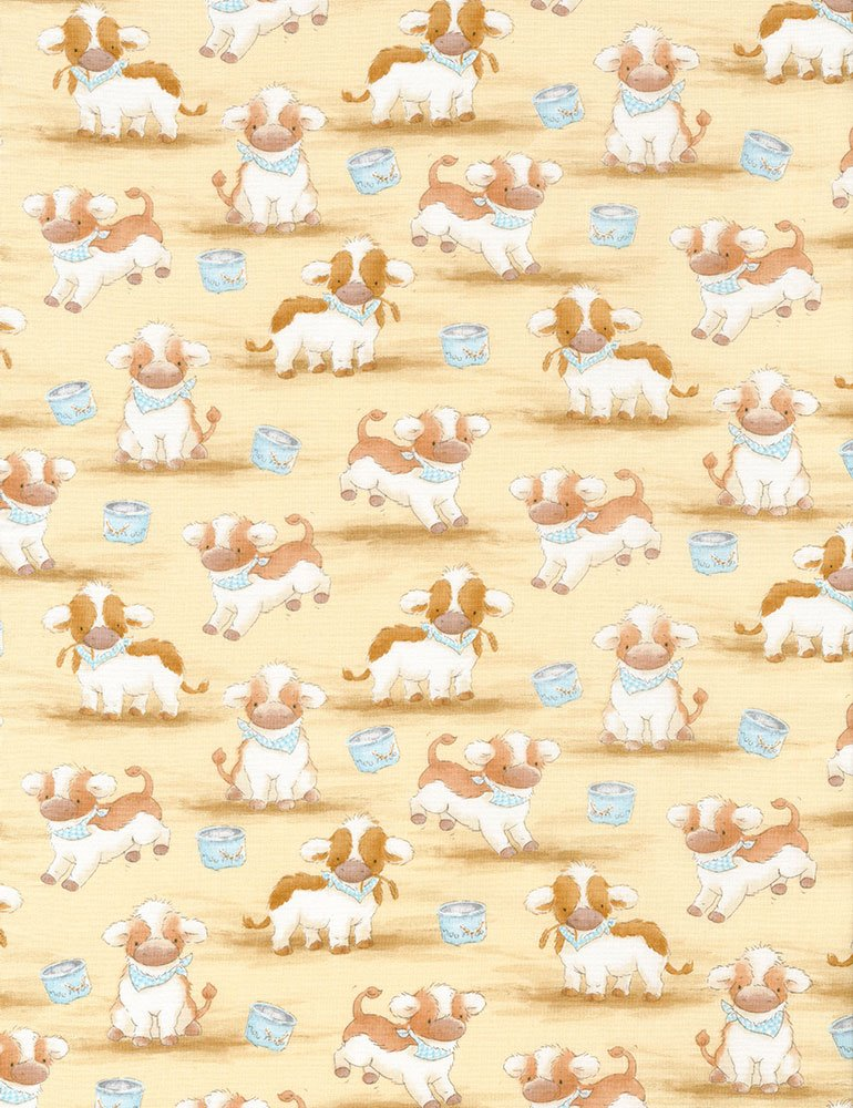 Cotton Tale Farm CF5820-TAN - Cows