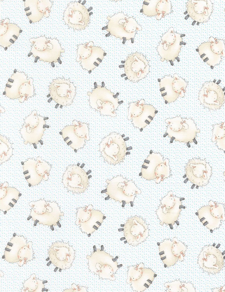 Cotton Tale Farm CF5821-CLOUD - Sheep