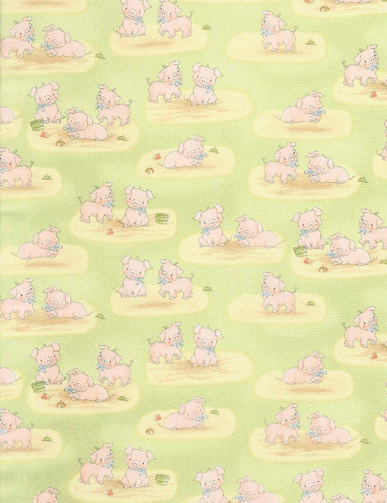 Cotton Tale Farm CF5830-GREEN - Pigs