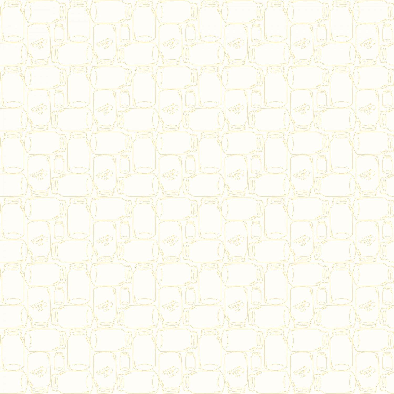 Bee Backgrounds - C6385 YELLOW - Jars Yellow