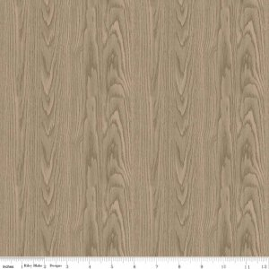 Fishing Wood Grain Tan - C6634-TAN