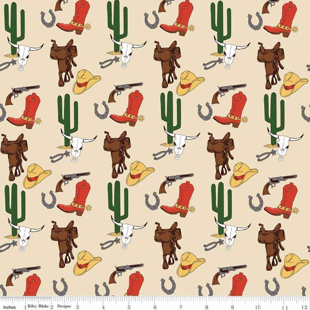 Cowboy Country<br>Gear Cream - C8301-CRM