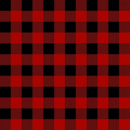 Gone Camping-Buffalo Plaid<br>C8465-RED