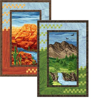Canyon Sunrise/ Mountain Sunset Pattern