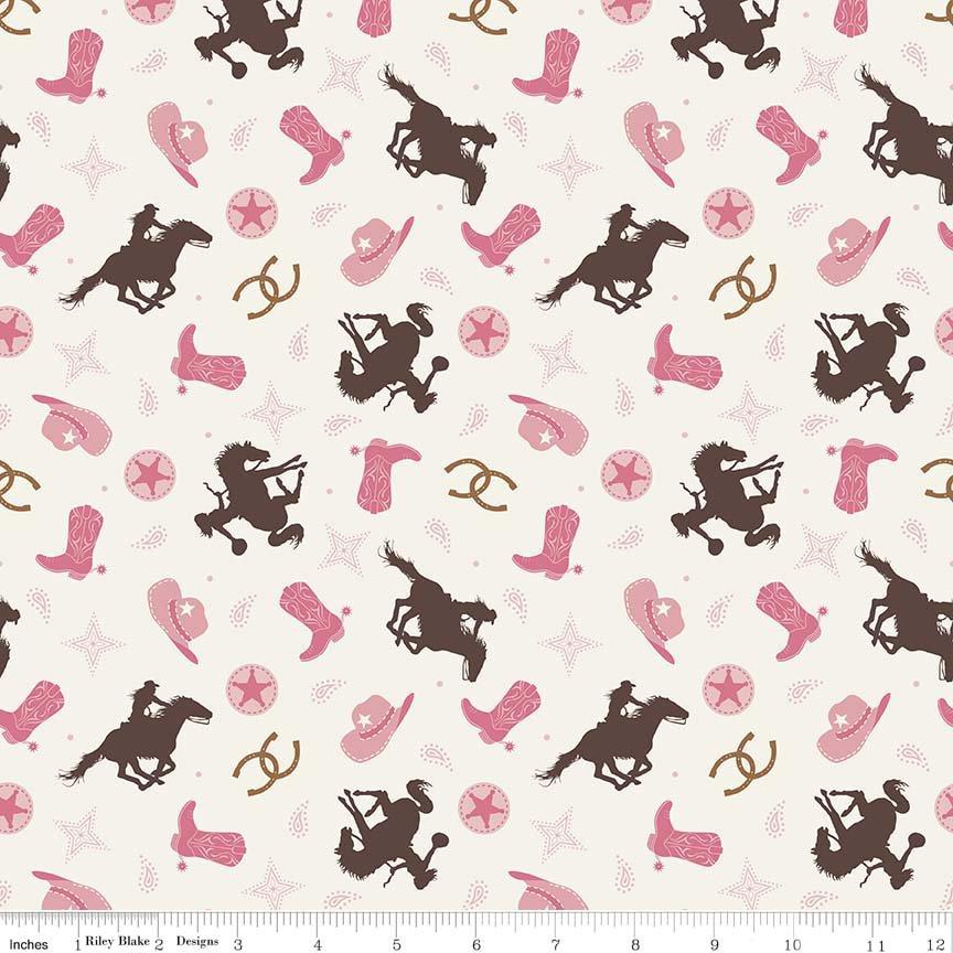 Cowgirl Toss Cream C5638- Cream