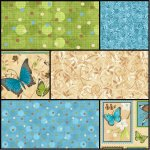 Butterfly Bliss Collection by Stella Jean from Wilmington Prints