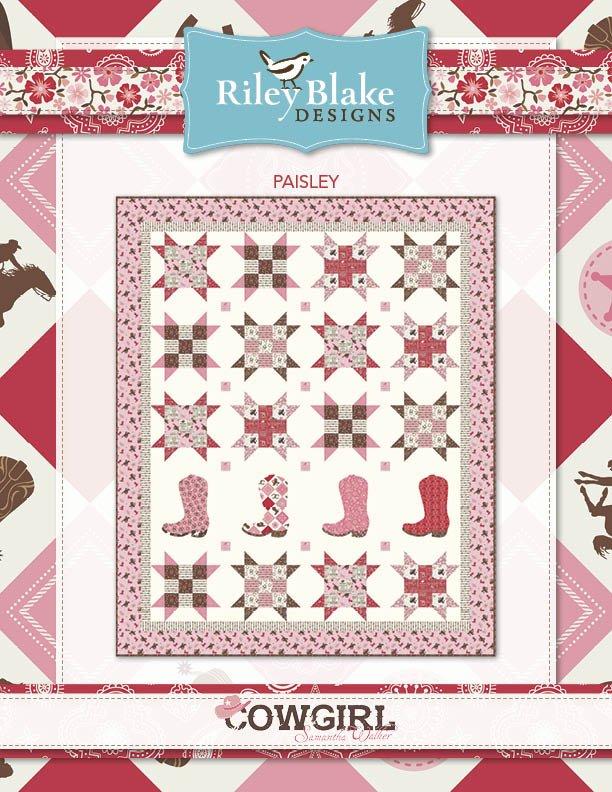 Paisley Quilt Kit 80 x 97