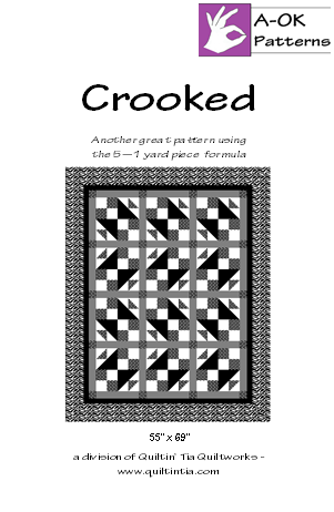 Crooked A-OK Pattern
