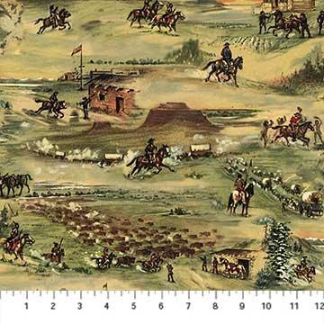 Pony Express DP21827 34<br>Old West Landscape