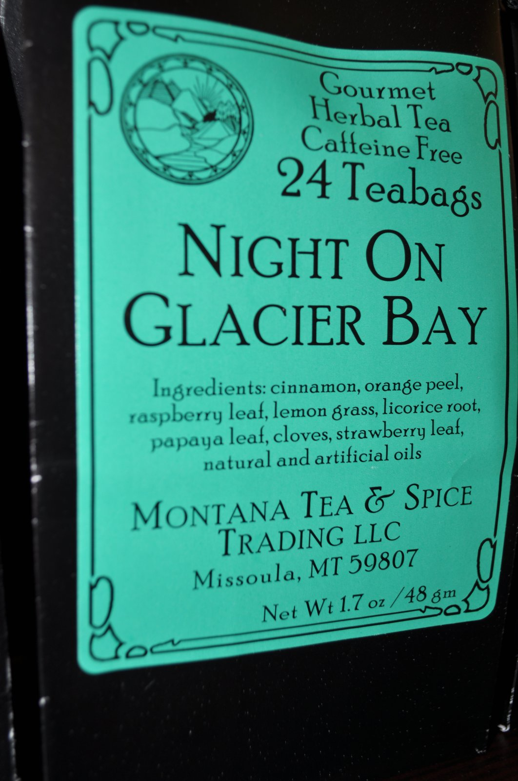 Montana Tea - Night on Glacier Bay