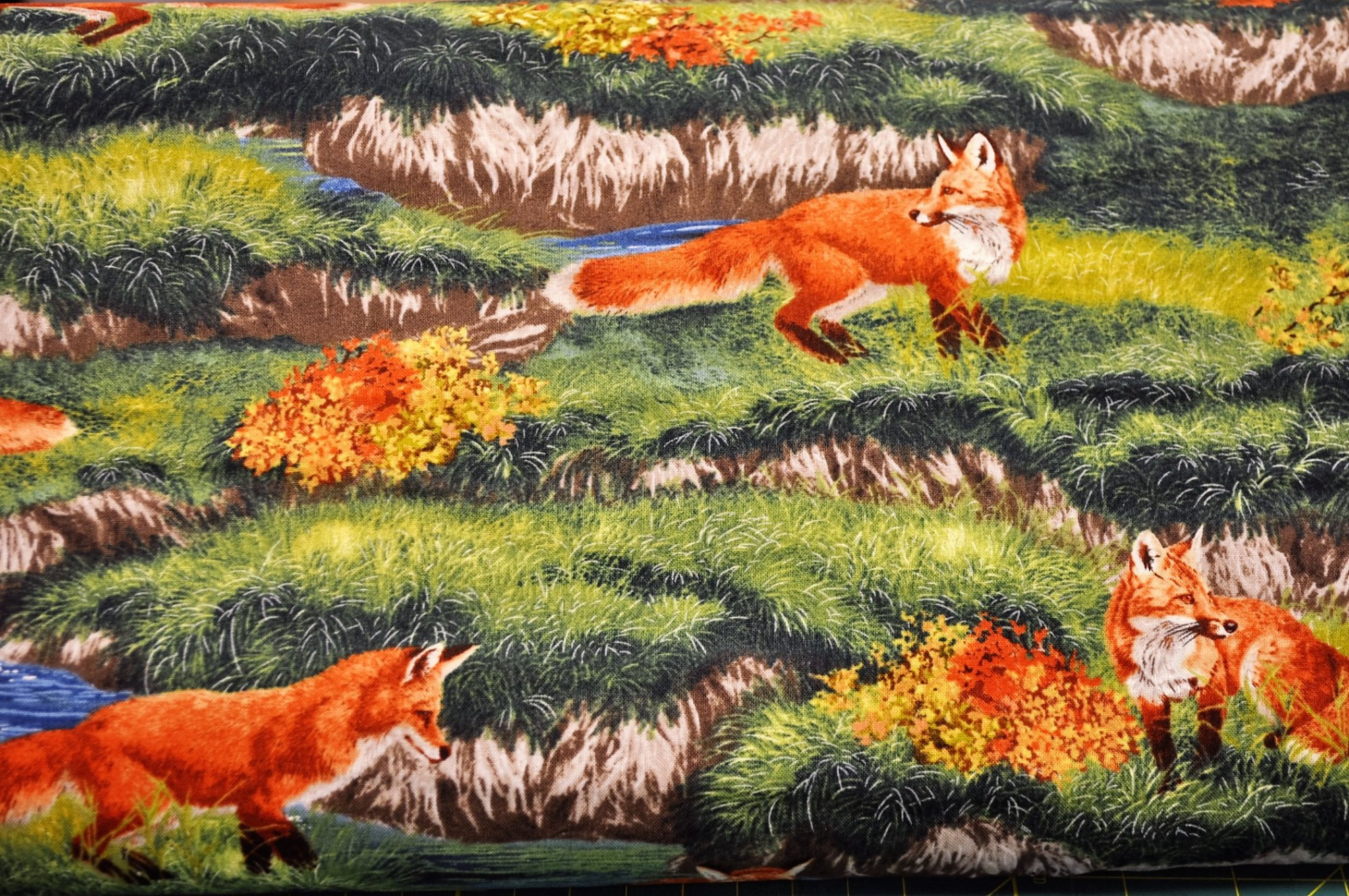 Bringing Nature Home Foxes AAX-15212-268