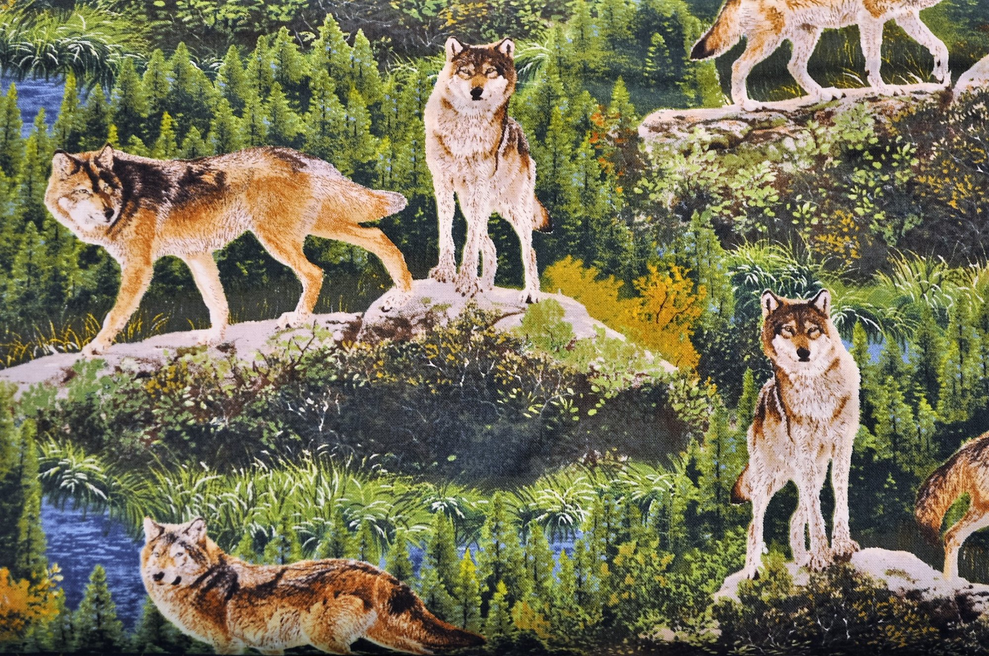 Bringing Nature Home Wolves AAX-15213-268