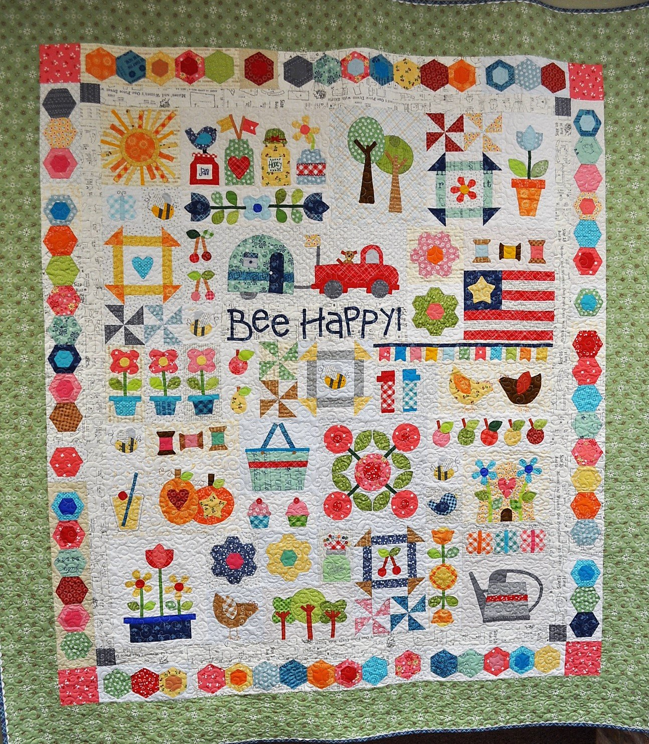 Bee Happy Quilt Kit