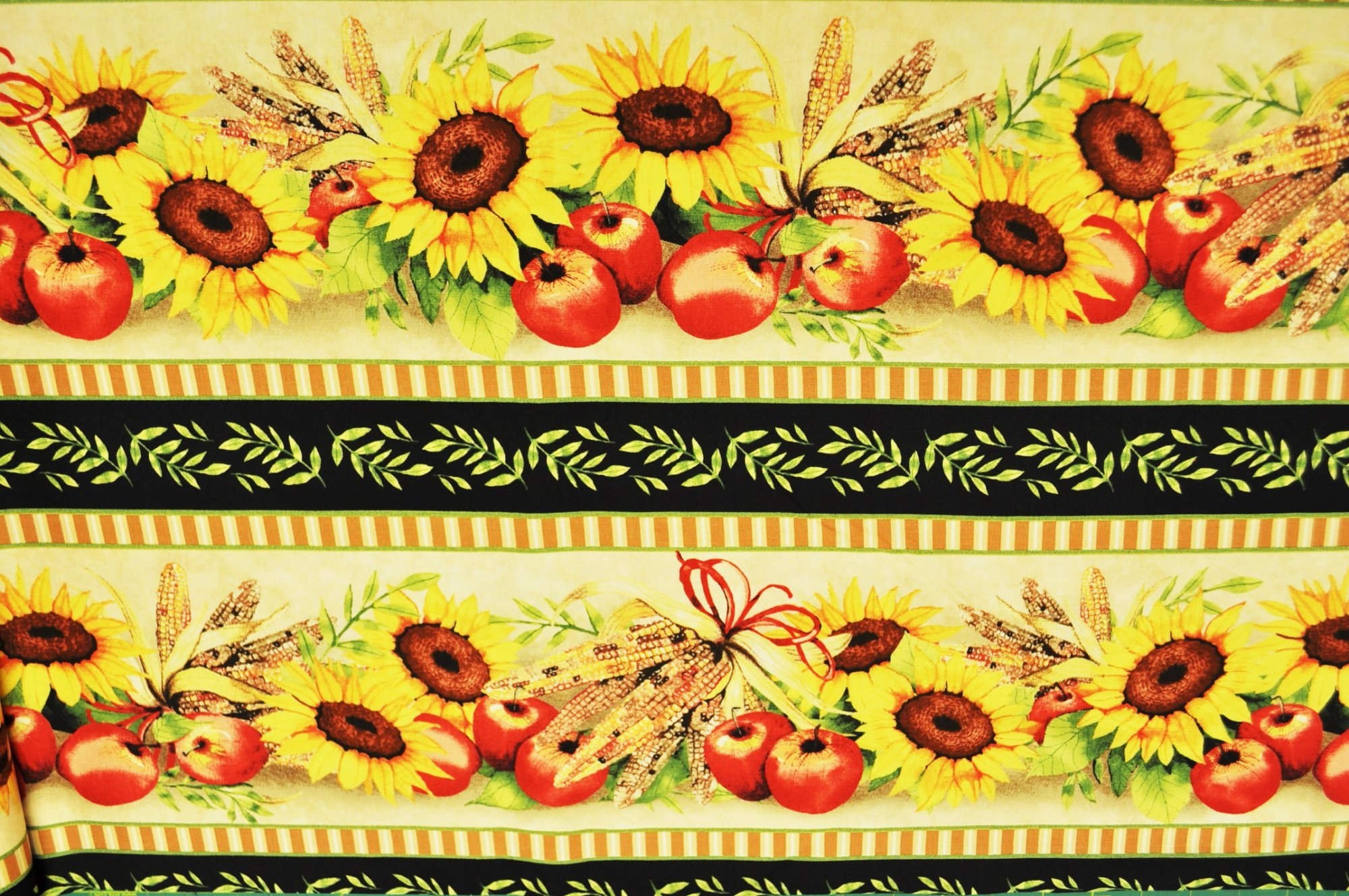 Sunshine Orchard Sunflower Stripe 1094-953