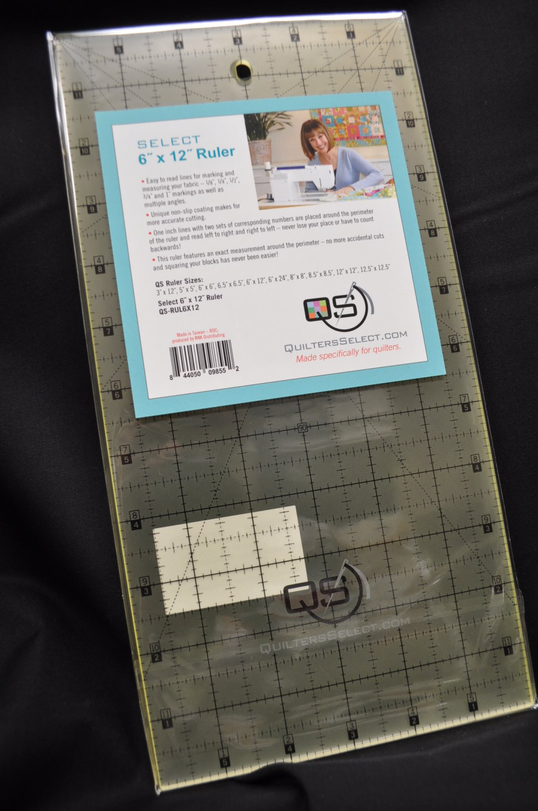 Quilters Select Quilting Ruler 6 x 12