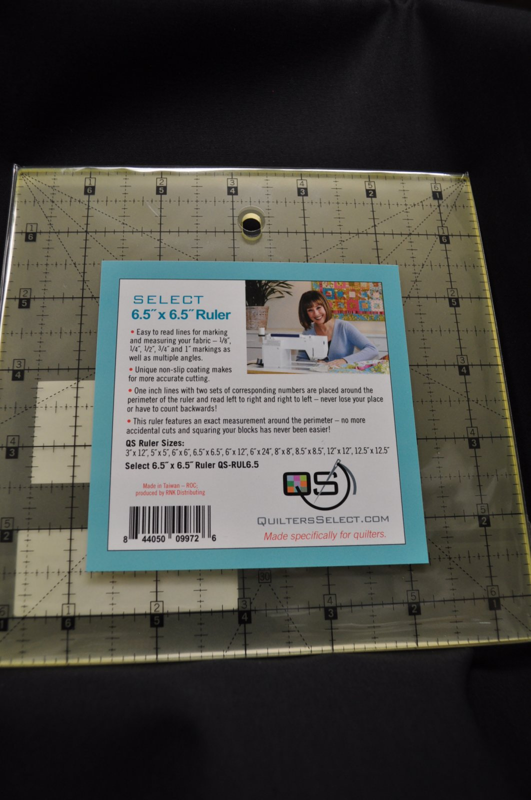Quilters Select Quilting Ruler 6.5 x 6.5