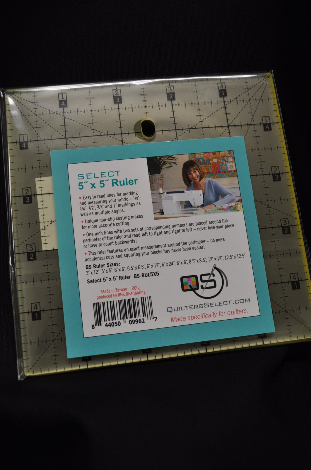 Quilters Select Quilting Ruler 5 x 5