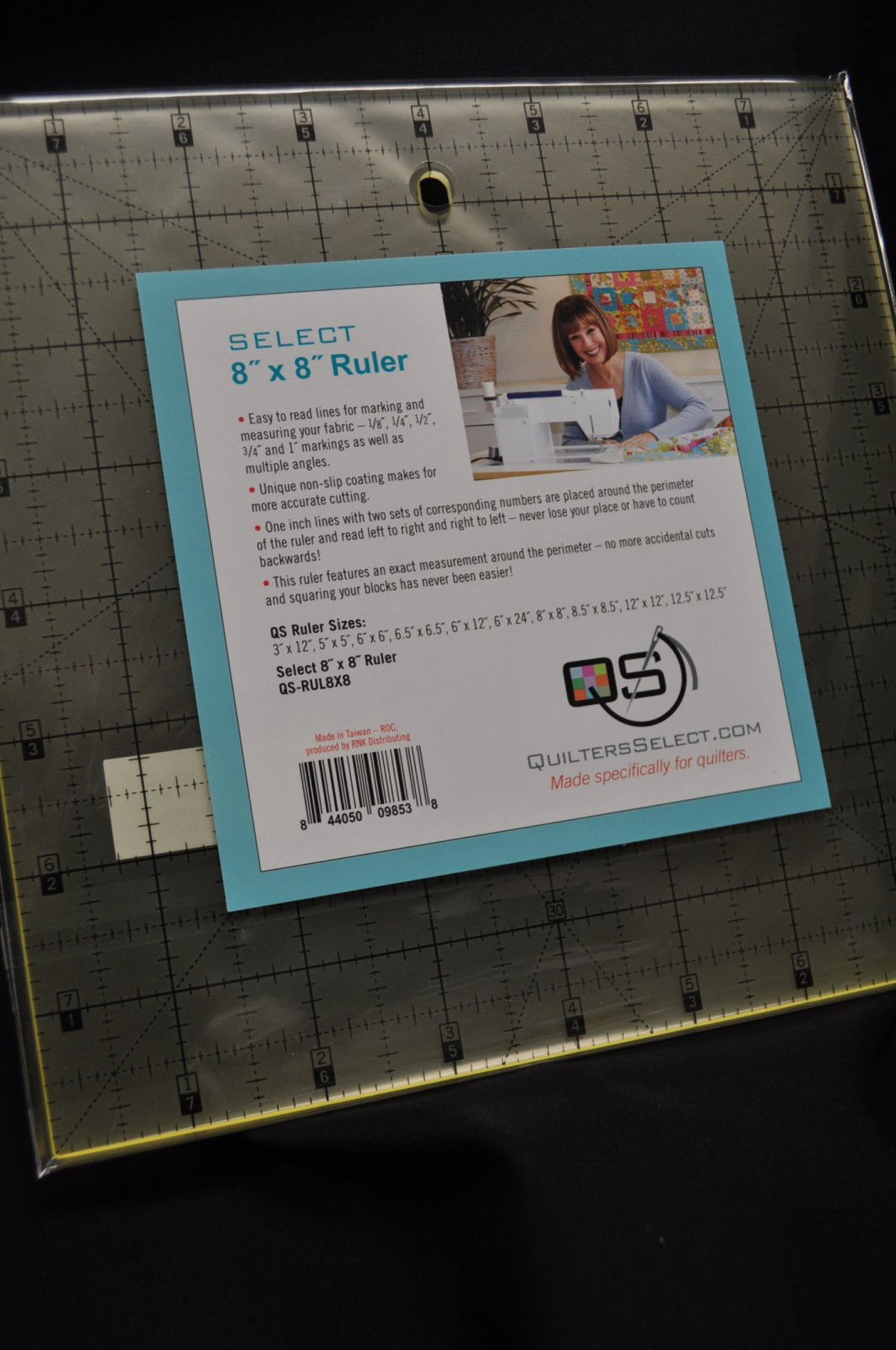 Quilters Select Quilting Ruler 8 x 8