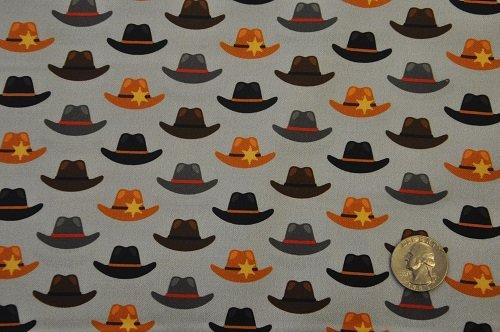 Coyote Cowboy - Hats<br>AHED-18545-12 Grey