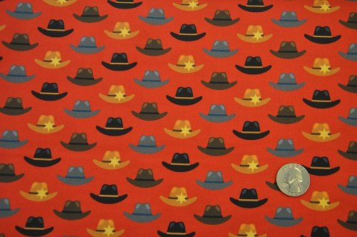 Coyote Cowboy - Hats<br>AHED-18545-3 Red