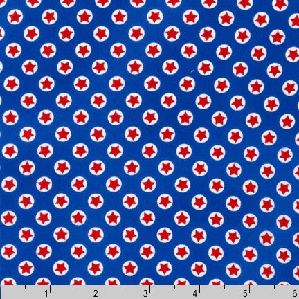 Freedom Small Stars Blue - EZC-12957-202 Americana