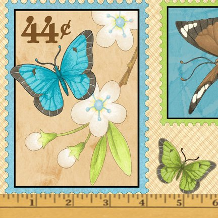 Butterfly Bliss Postage Stamp Scatter - 80683W-147